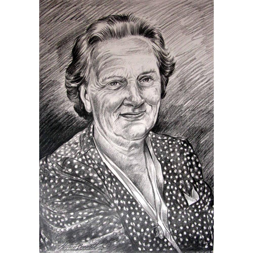 Commission a pencil portrait by donegal artist stephen bennett