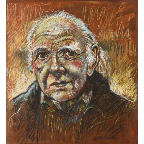 Portrait Painted - Oil Pastel