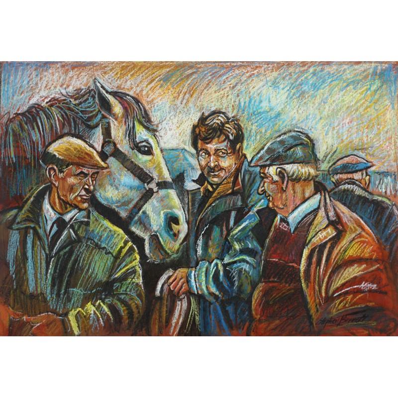 the horse fair painting